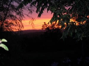 Sunset in Nimbin