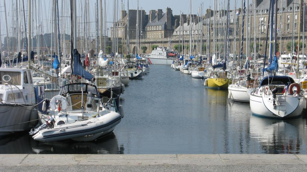 Saint Malo the city of pirates and buccaneers. Bretagne