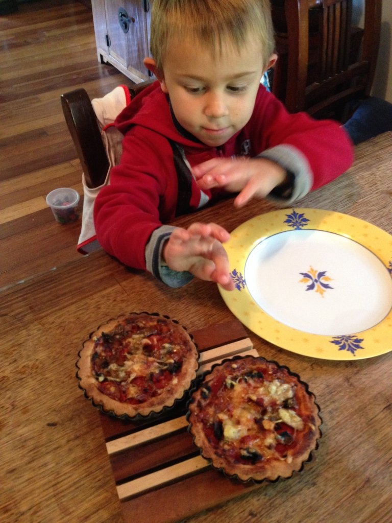 Pizza made by Mereki