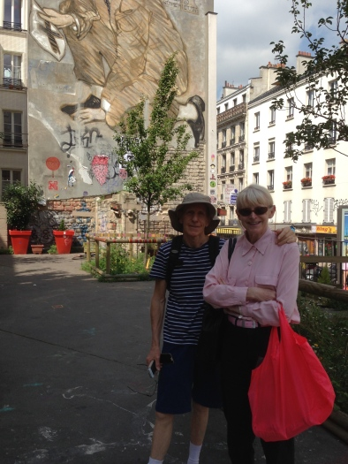 El and Peter in Paris last year.2014